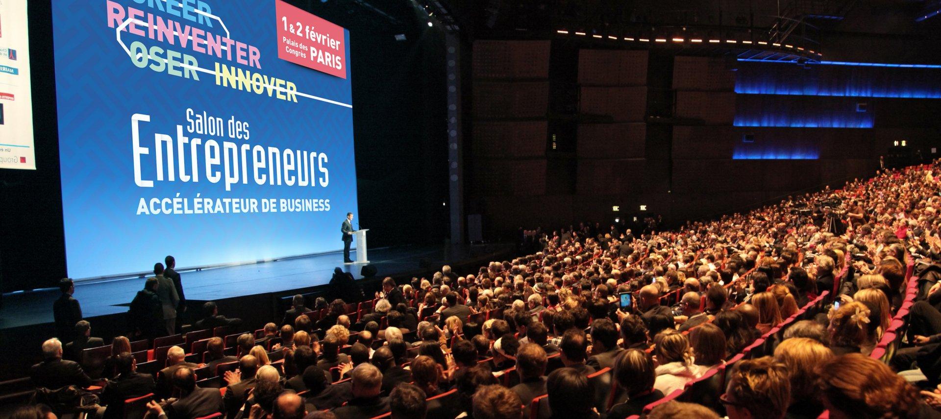 Salon des entrepreneurs 1er et 2 f vrier palais des for Salon des entrepreneurs
